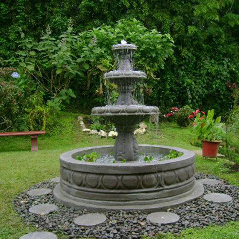 Fuentes de jardin caseras fuentes de agua caseras para for Fuentes de jardin caseras